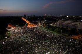 Červencové protesty v Rumunsku, které vyvolal případ vražd