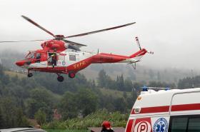 Čtvrteční zásah záchranářů v Tatrách