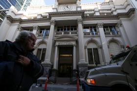 Argentinská centrální banka v Buenos Aires