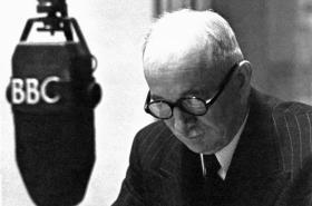 Exilový prezident Beneš ve vysílání BBC