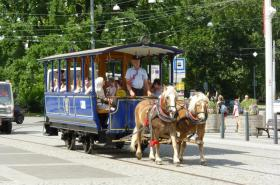 Koněspřežná tramvaj v Brně