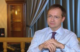 Ruský ministr kultury Vladimir Medinskij