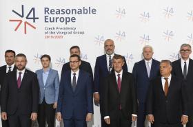 Jednání premiérů zemí visegrádské skupiny s partnery ze západního Balkánu