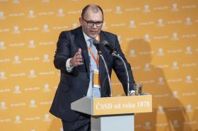 Šéf moravskoslezské organizace ČSSD Tomáš Hanzel
