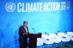 Generální tajemník OSN Antonio Guterres zahajuje summit v New Yorku