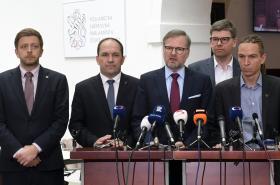 Předsedové některých opozičních stran