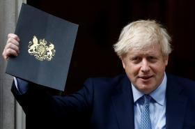 Boris Johnson odchází z Downing Street