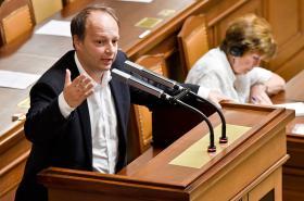 Václav Láska ve sněmovně
