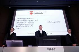 Soudci v procesu proti Volkswagenu