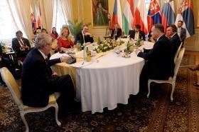Summit skupiny V4, Srbska a Slovinska