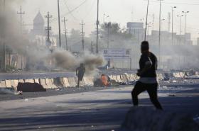 Iráčané se bouří proti situaci v zemi