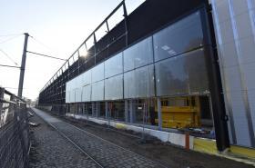 Dopravní podnik dokončuje vozovnu v Pisárkách