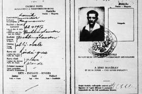 Cestovní pas Václava Sedláčka