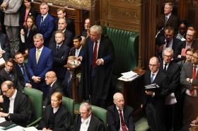 John Bercow v Dolní sněmovně