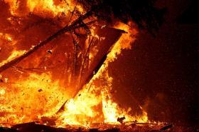Plošné požáry v Kalifornii