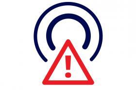 Piktogram upozorňující na ukončení DVB-T
