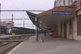 Hlavní nádraží v Brně