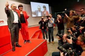Nové vedení německé sociální demokracie