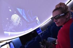 3D planetárium