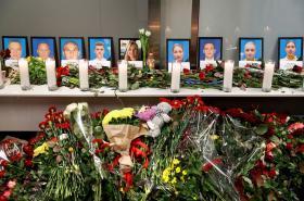 Pieta za ukrajinské oběti pádu letadla v Íránu