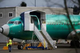 Boeing 737 MAX u americké továrny firmy v Rentonu
