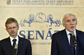 Miloš Vystrčil a Jiří Růžička