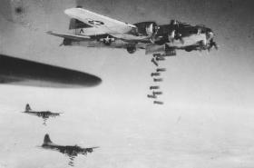 Rozbombardované Drážďany 1945