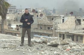 Zpravodaj ČT Václav Černohorský v Sýrii