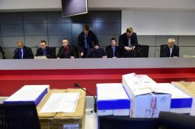 Obžalovaní v kauze Vidkun před soudem
