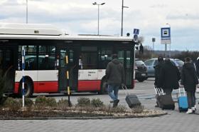 Cestující v Brně
