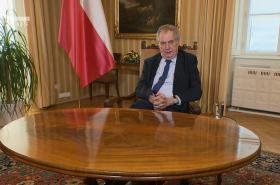 Projev prezidenta Miloše Zemana