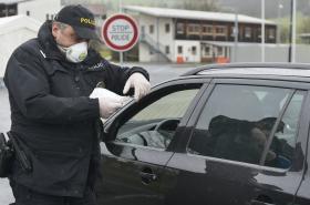 Kontrola na hranicích v souvislosti s opatřením proti koronaviru