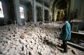 Zemětřesení v Chorvatsku způsobilo významné škody na budovách i historických památkách převážně ve městě Záhřeb