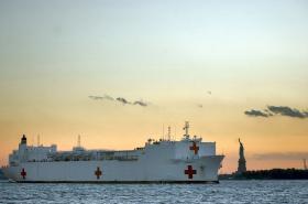 Americké nemocniční lodě