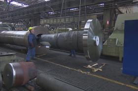 Dělníci v ocelárnách Vítkovice Heavy Machinery