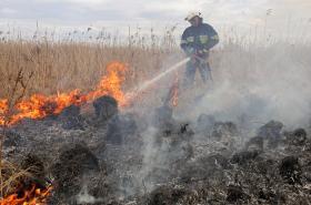 V Biebrzańském národním parku, největším chráněném území v Polsku, oheň podle odhadu zachvátil skoro 4000 hektarů.