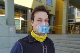 Prototyp respirátoru