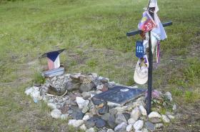 Hrob J. E. Welzla v Kanadě