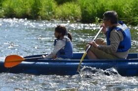 Po uvolňování opatření proti šíření koronaviru se na řeky vracejí vodáci