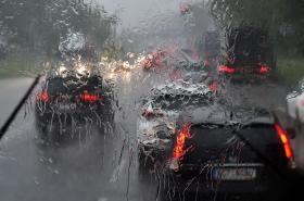 Vydatný déšť