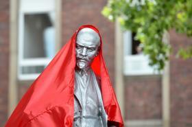 V Německu vztyčili sochu Lenina, která pochází z Česka