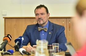 Odvolaný děčínský primátor Jaroslav Hrouda