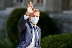 Prezident Emmanuel Macron