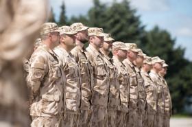Vyznamenaní vojáci 20. úkolového uskupení