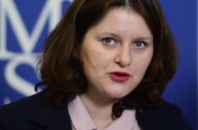 Ministryně práce a sociálních věcí Jana Maláčová (ČSSD) na briefingu po jednání důchodové komise