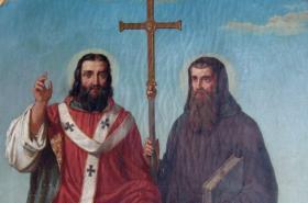 Svatý Cyril a Metoděj, obraz Josefa Zeleného