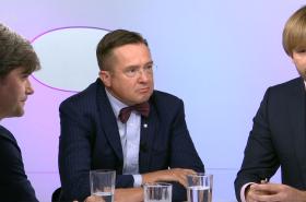 Hosty OVM byli Adam Vojtěch, Marek Hilšer, Roman Šmucler