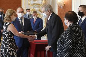 Jaroslava Pokorná při jmenování předsedkyní Městského soudu v Praze