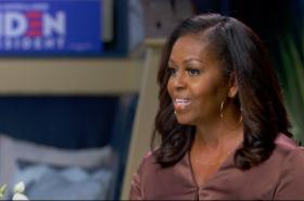 Michelle Obamová na nominačním sjezdu Demokratů