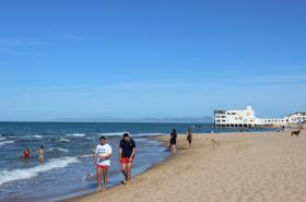 Pláž v Tunisku